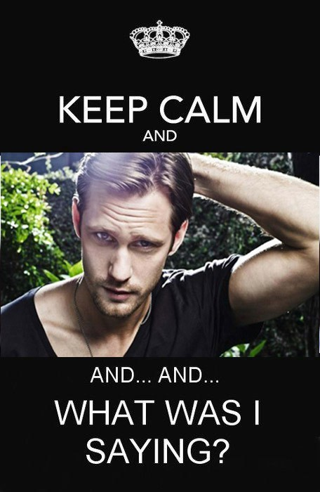 Eric Northman, True Blood, humour, poster