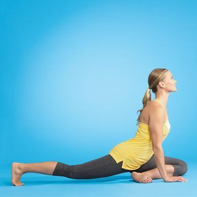 yoga, woman, exercise, photograph