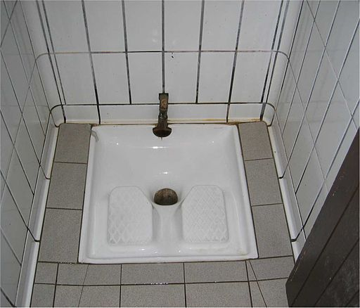 squat toilet, France, photograph, toilet, restroom, Turkish toilet