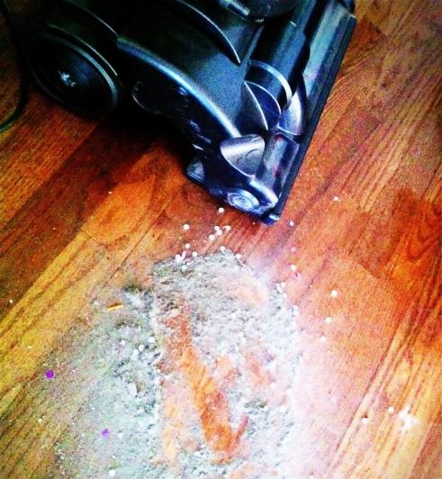 vacuum cleaner, vacuum, floor, wood floors, dirt, photograph, cleaning